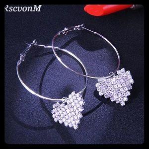 Austria Crystal Wedding Earrings